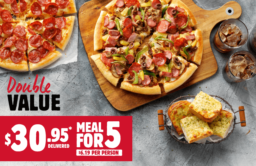 pizza hut 5 people deal